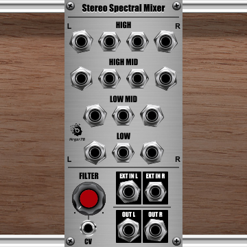 Stereo Spectral Mixer
