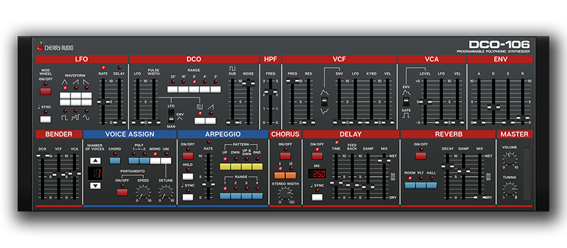 DCO-106 Polyphonic Synthesizer