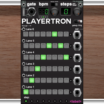 Playertron Fractional Sequencer