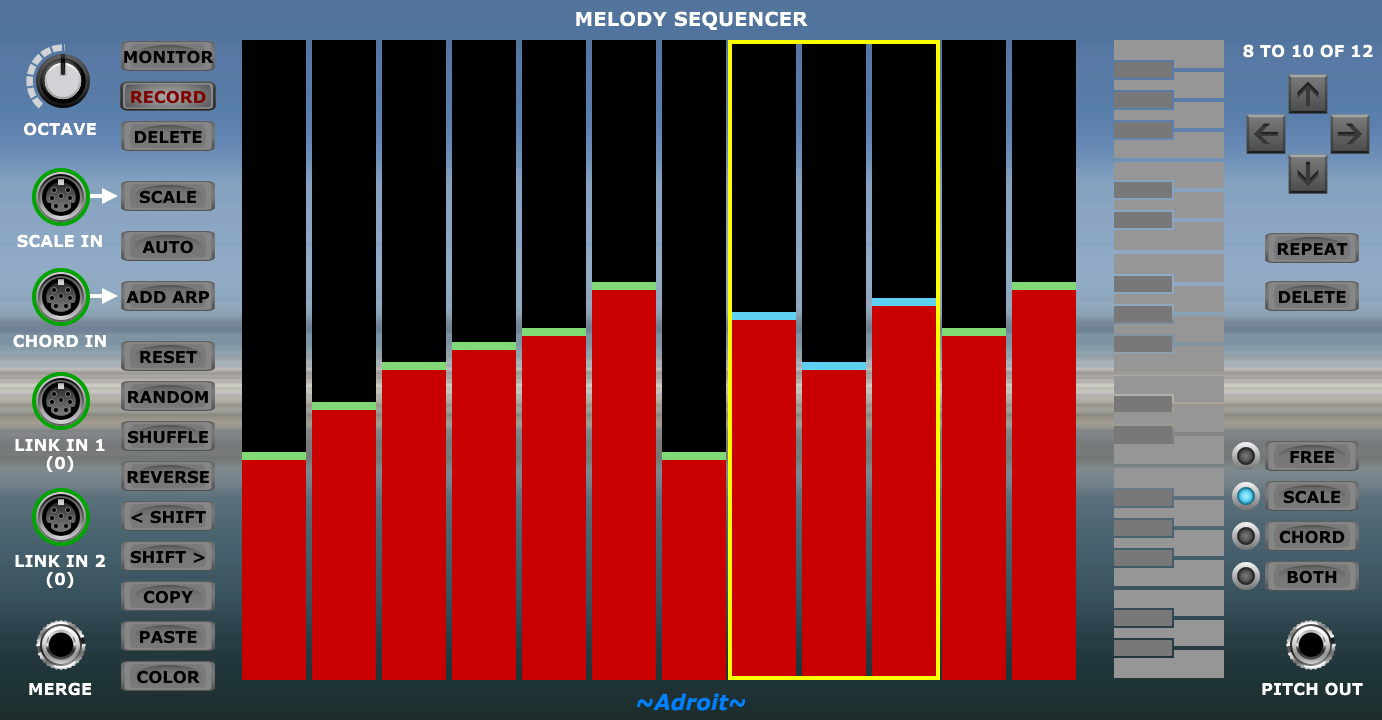 Melody Sequencer