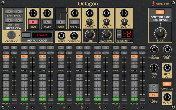 Octagon Sequencer