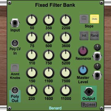 Fixed Filter Bank