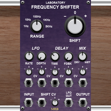 Laboratory Frequency Shifter