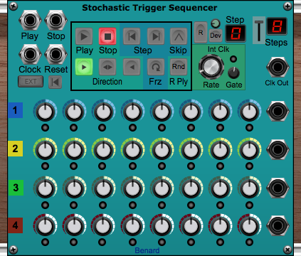 Stochastic Trigger Sequencer