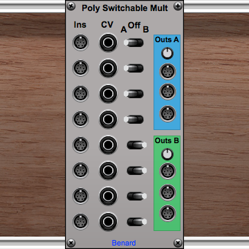 Poly Switchable Mult