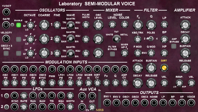 Laboratory Semi-Modular Voice