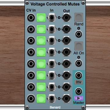 Voltage Controlled Mutes