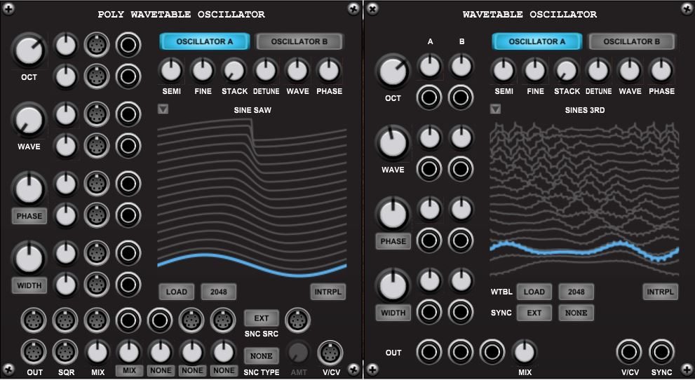 Wavetable Oscillator Bundle
