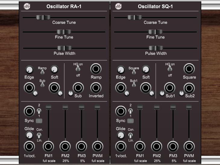 M*4 Oscillator Bundle