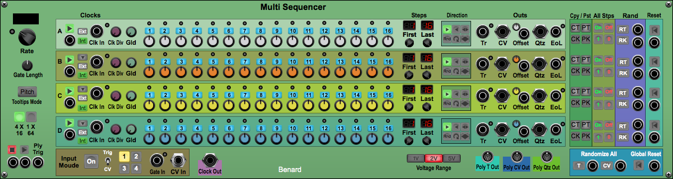 Multi Sequencer