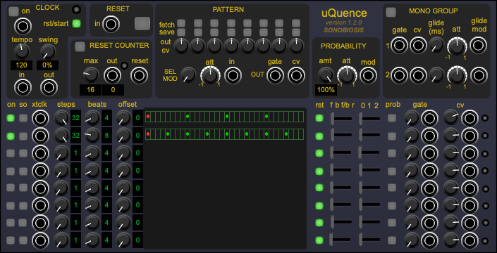 uQuence Sequencer