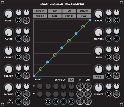 Poly Graphic Waveshaper