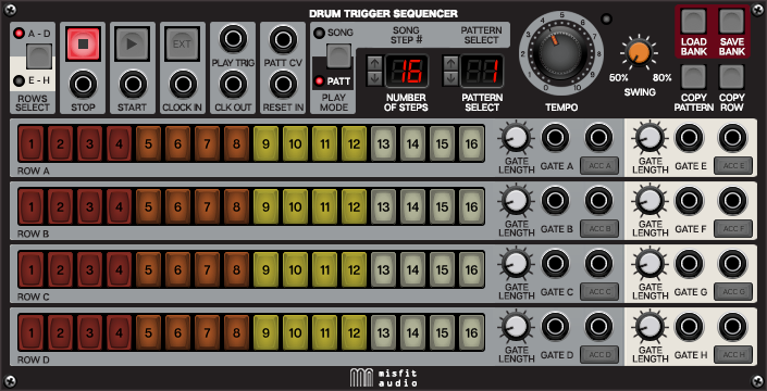 Drum Trigger Sequencer