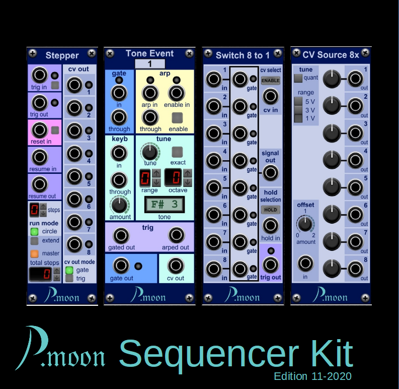 P.moon Sequencer Kit