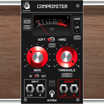 Nrgzr78_COMPRIMITER [Compressor, Limiter, Enhancer, Effect, Processor]