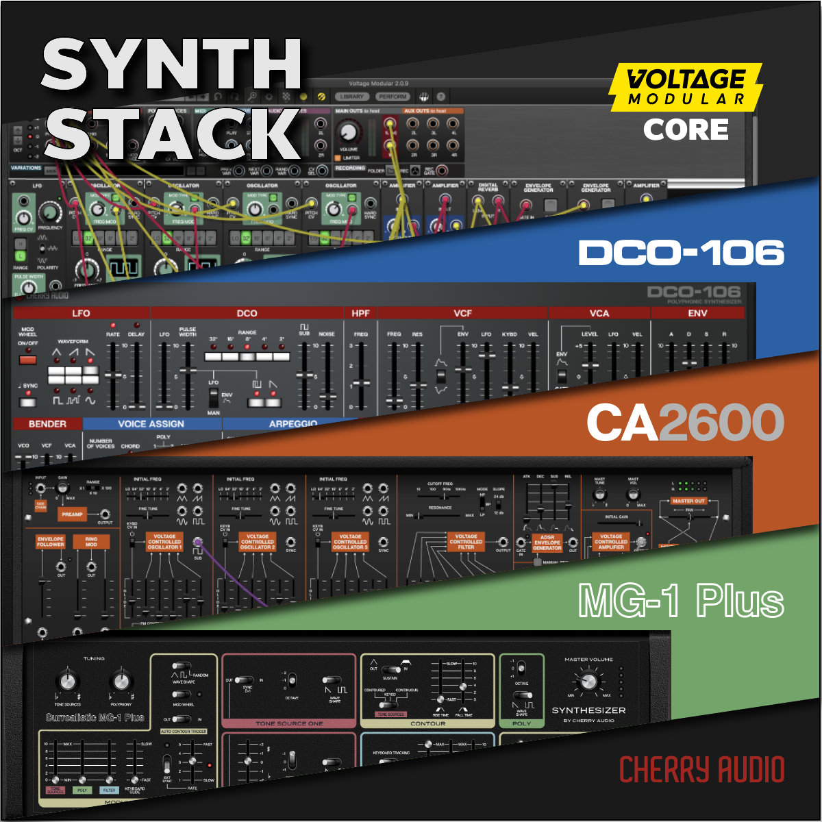 Cherry Audio Synth Stack