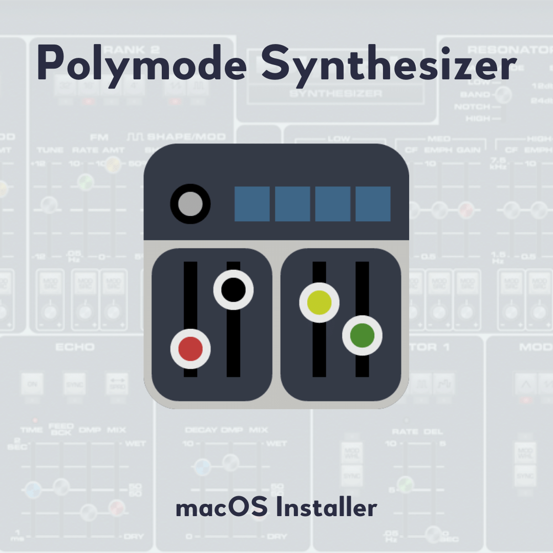Polymode Synthesizer macOS Installer