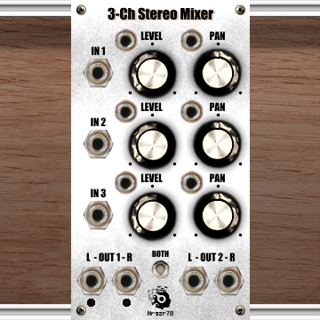 3-Ch Stereo Mixer
