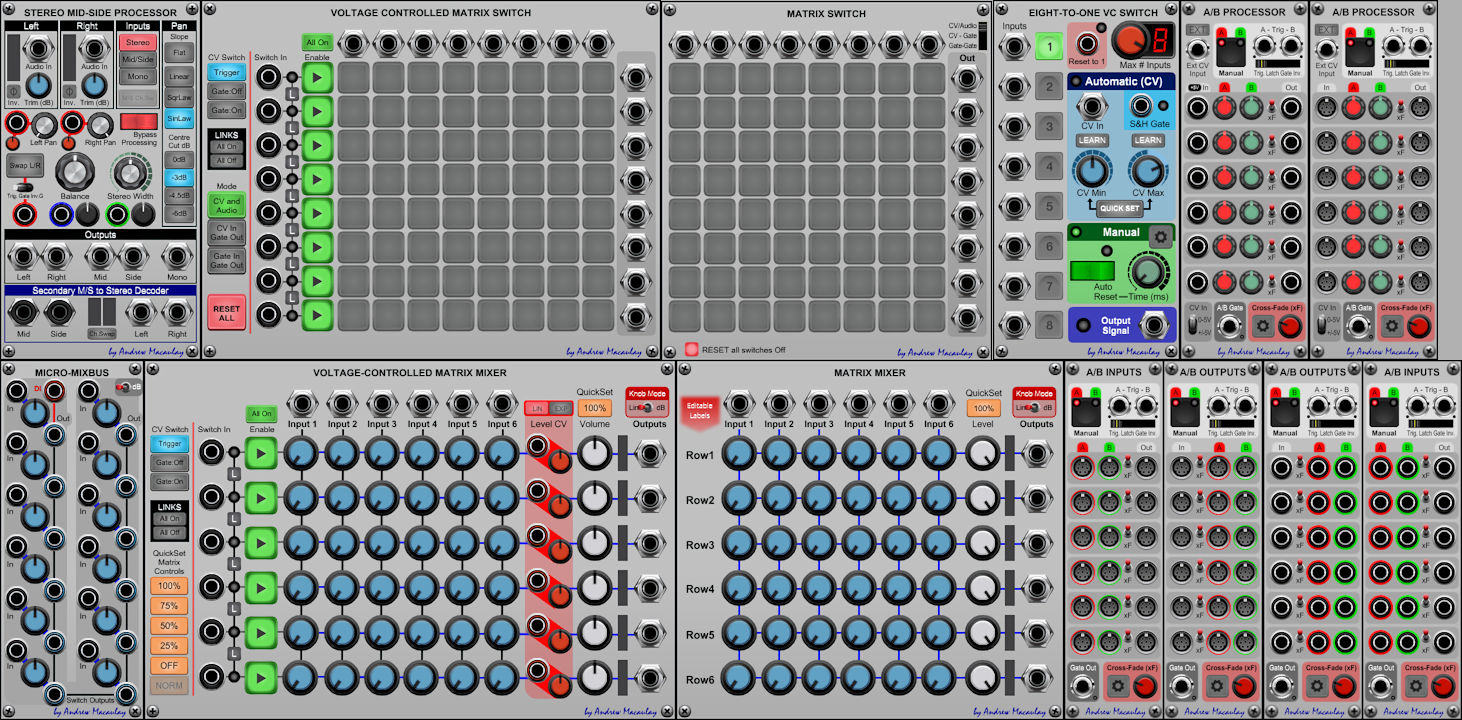 Andrew Macaulay's Switches and Mixers
