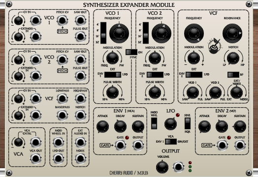 Synthesizer Expander Module
