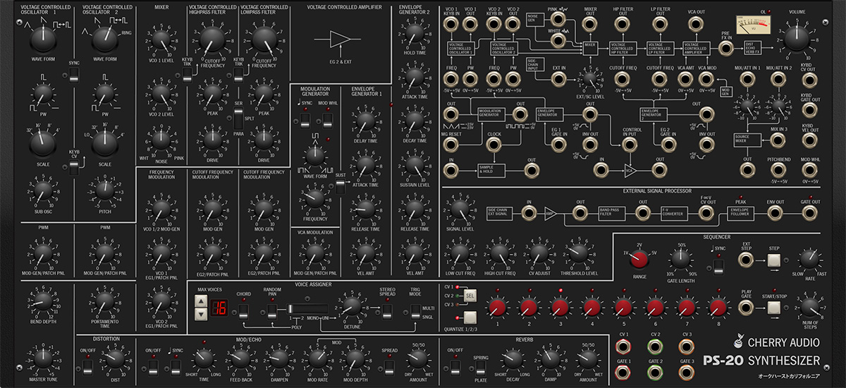 PS-20 Synthesizer