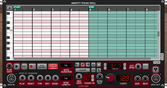 Mighty Piano Roll